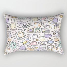 Artsy Cats Rectangular Pillow