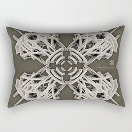 Calaabachti Arch Rosetta [synthetic version] Rectangular Pillow