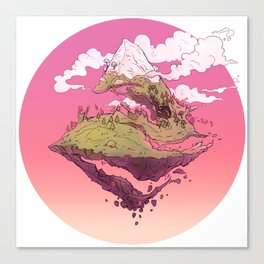 Spiral Mountain Canvas Print