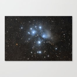 The Pleiades or The Seven Sisters Canvas Print