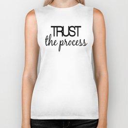 Trust The Process Biker Tank