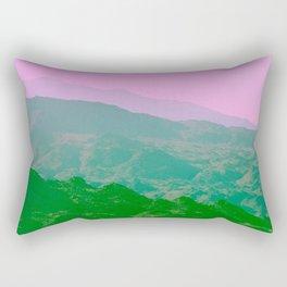 Palm Springs Mountains IV Rectangular Pillow