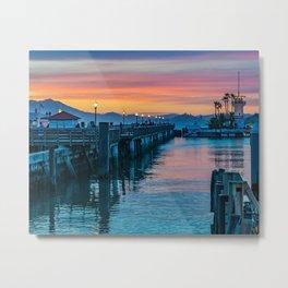 Pier 41 San Francisco Metal Print