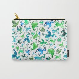 Tree Frogs Carry-All Pouch