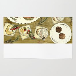 Holiday Hors D'oeuvre Rug