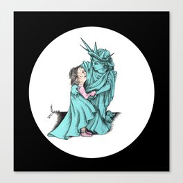 We Really Do care Canvas Print