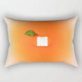 Orange out of the box Rectangular Pillow