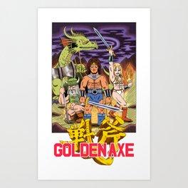 GOLDEN AXE Art Print