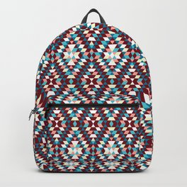 Cool vintag colorful pattern #society6 Backpack