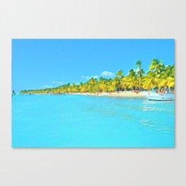 Saona Island - Art 001C Canvas Print