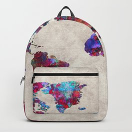 World Map 30 Backpack