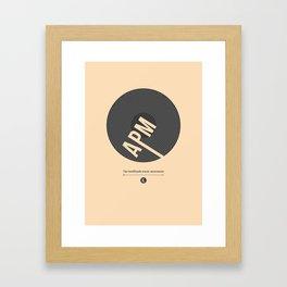 AntiPanda #1 Framed Art Print