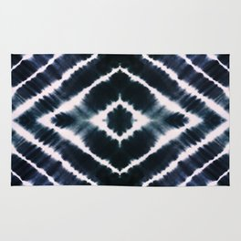 WAKE UP CALL INDIGO Rug