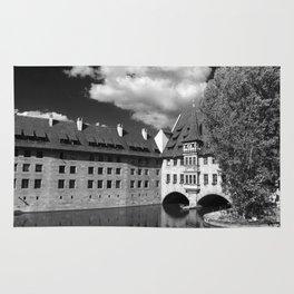 Old Architecture  Nuremberg Rug