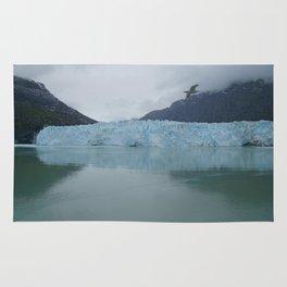 Glacier Bay National Park Margerie Glacier Alaska Rug