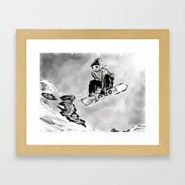 Tricks and Jumps  Framed Art Print