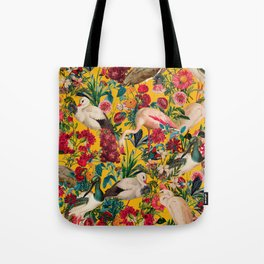 FLORAL AND BIRDS XVIII Tote Bag