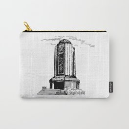 Old Mausoleum Ink Art Carry-All Pouch