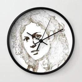 Ellen Ripley sketch- Sigourney Weaver- Alien Wall Clock