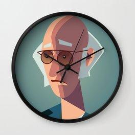 Larry David Seinfeld Curb Your Enthusiasm Wall Clock