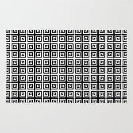 Square Pair Dance of Illusions Rug
