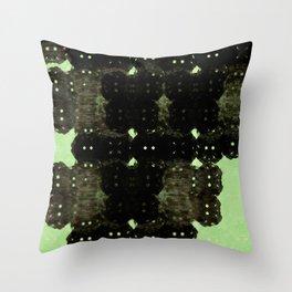 Alien Cocoons Throw Pillow
