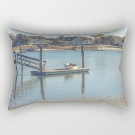 Bass River, Yarmouth Massachusetts on Cape Cod Rectangular Pillow