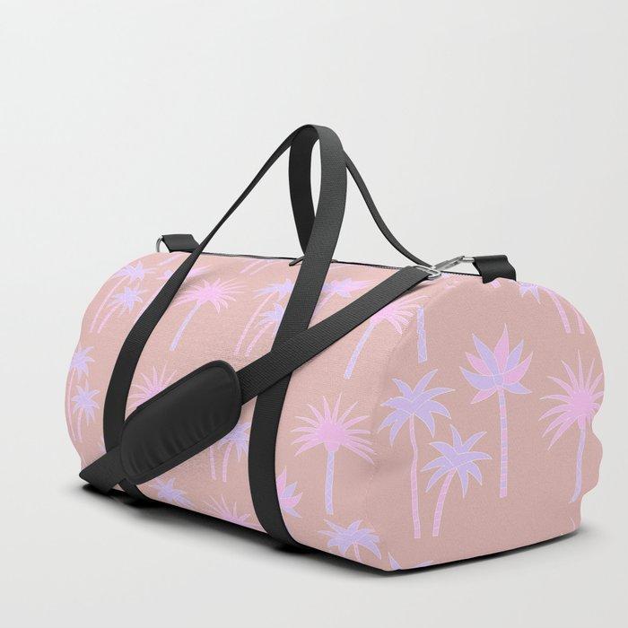 Palm Trees - Neutral & Pastel Duffle Bag