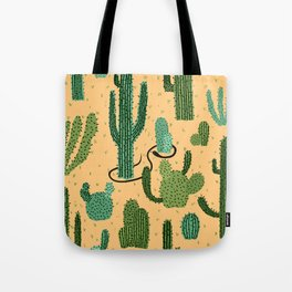 The Snake, The Cactus and The Desert Tote Bag