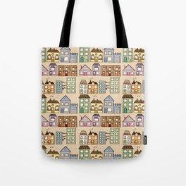 Houses Tote Bag