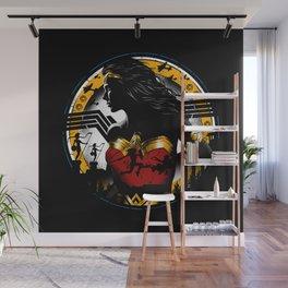 Amazon Girl Wall Mural