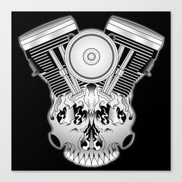 Motor Mind Canvas Print