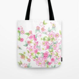 Martha's Flowers Tote Bag