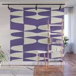 Zaha Ultra Violet Wall Mural