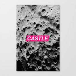 SURFACE #2 // CASTLE Canvas Print