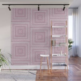 Dusty Rose Drawing Therapy Wall Mural