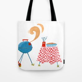 Southern Hygge: Barbecue Tote Bag
