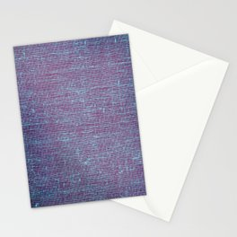 purple weave Stationery Cards
