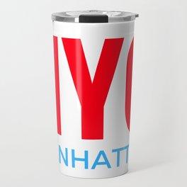 NYC Manhattan Travel Mug