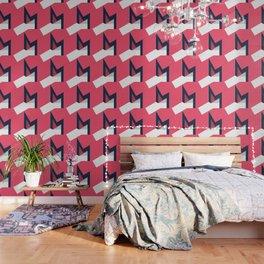 Letters M - geometric Wallpaper