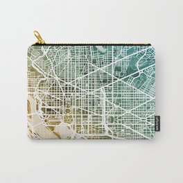 Washington DC Street Map Carry-All Pouch