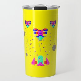 Retro games star fighter Travel Mug