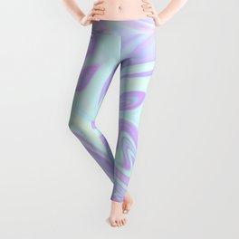 Unicorn Goo Liquid Holographic Texture Leggings