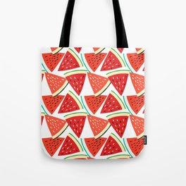 Sliced Watermelon Tote Bag