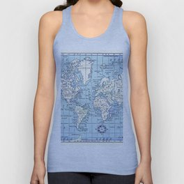 A Really Nice Map Unisex Tank Top
