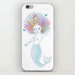 Coral the Mermaid iPhone Skin