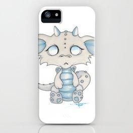 White Dragon Chibi iPhone Case
