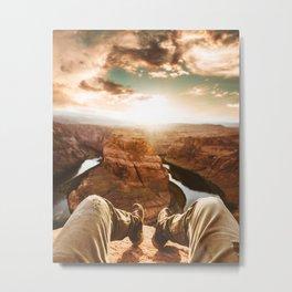 horse shoe bend canyon Metal Print