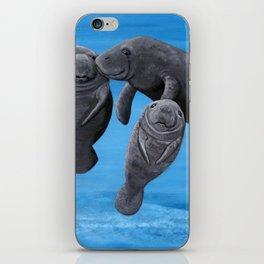 Manatees iPhone Skin