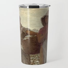 The Cotton Pickers by Winslow Homer, 1876 Travel Mug